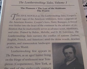 The Leatherstocking Tales * Vol 1 * Library of America * New * HC * Cooper * 1985
