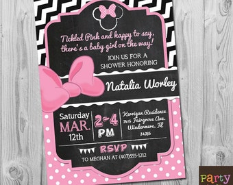 Minnie mouse baby shower invitations etsy minnie mouse baby shower invitation minnie mouse baby shower invites minnie mouse baby shower filmwisefo Image collections