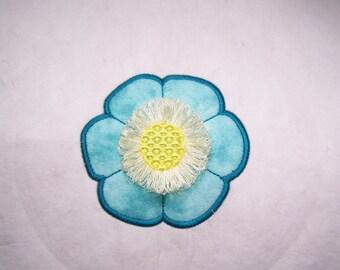 Fringe Flower Applique