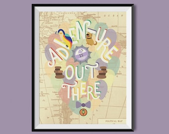 """Up """"Adventure is Out There"""" Print"""