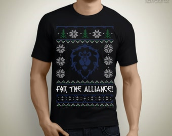 For the Alliance! - Christmas T-Shirt / Ugly Sweater