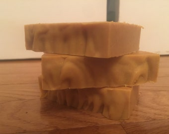 Carrot and honey soap. Bastille soap. Baby soap