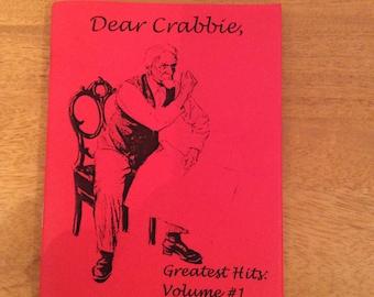 Dear Crabbie advice column zine