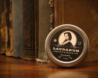 Laudanum - Tobacco and Black Tea Scented Balm