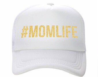 Trucker Hat, Mom Hat, Life Hat, Custom Hat, Custom Trucker Hat, Trucker Hats, Mom Trucker Hat, Woman Trucker Hat