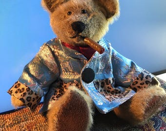 Stradivarius The Cigar Bear . Teddy Bear