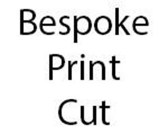 Bespoke Design Fee - Cut Orders