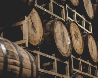 Whiskey Barrel Staves