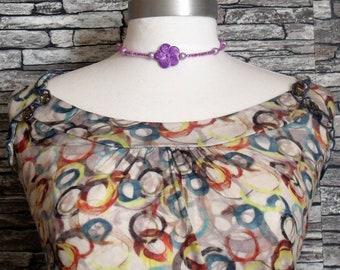 "Fashion girl ""Violette"" necklace"