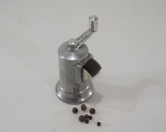 Authentic Vintage french PERFEX Mini Pepper Mill Grinder Made In France Circa 1950s