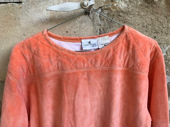 Courreges Cotton Courrèges Courreges Courreges Set Peach Jumper Top Set Twin Courreges Match Jumper Coordinates Skirt Courreges cOwRfzwWq