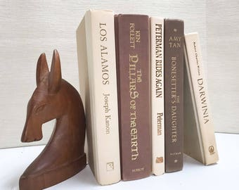 Brown Decorative Book Set