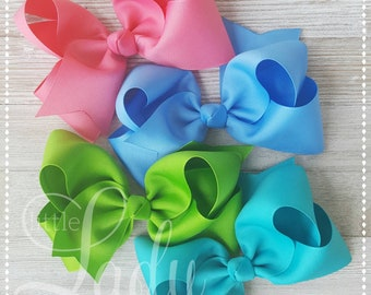 Camp MJC release 2-made to match Matilda Jane-hair-bow bundle-custom hair-bows-bows for girls-baby bows-boutique hairbows-bundled hairbows--