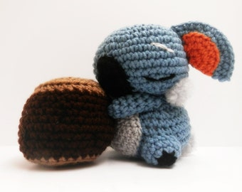 Crochet Komala Inspired Chibi Pokemon