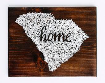 South Carolina String Art - Home