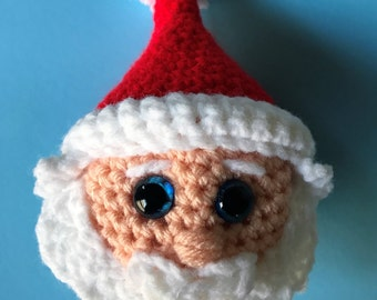 Santa Christmas Ornament (PDF file only, not the finished doll)