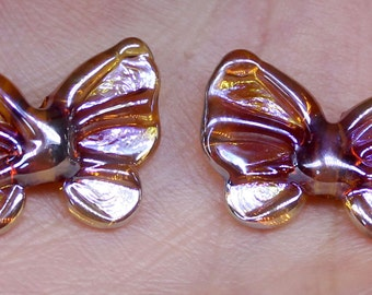 Butterfly bead pair