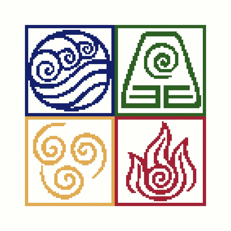 Avatar nation symbols cross stitch pattern zoom biocorpaavc Image collections