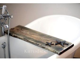Tray, bathtub caddy, wood solid wood, wood storage, bathtub storage
