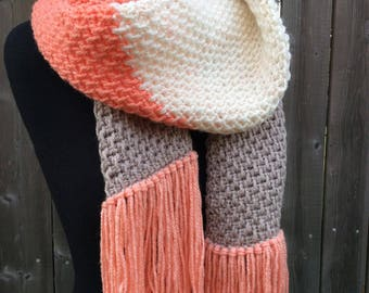 Autumn Scarf - Crochet Pattern - PDF Download