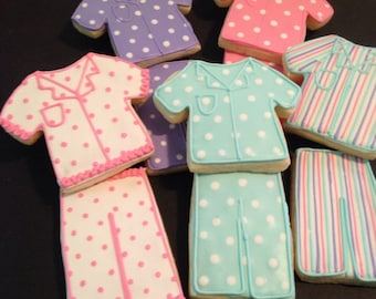 Pajama Party Cookies-6 Pair