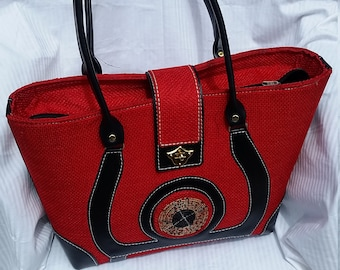 Red Tote bag for all seasons