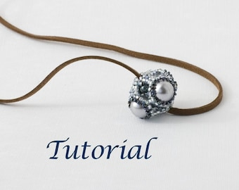 Beaded Bead Tutorial Geode (Advanced) Digital Download