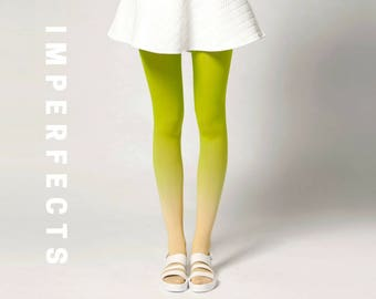 IMPERFECT, Ombré Tights in Fruits