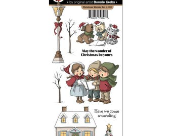 Art Impressions Stamp  Set - Christmas Wonder