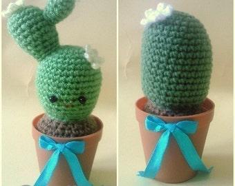 PDF Crochet Pattern - Cutie Cactus