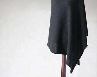 Alpaca poncho, women cape, women sweater, knit poncho, black poncho, woman coat, black cape, women poncho, knit cape,knit scarf,wrap sweater