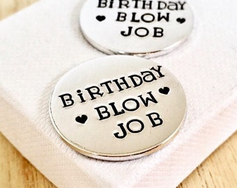 Husband birthday etsy birthday blow job rude gift husband birthday gift love token gifts for negle Image collections