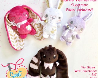 Teacup Bunny ITH Pattern