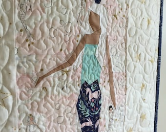 Land of Magic Mermaid PDF Paper Piecing Pattern