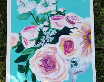 Flower Bouquet: White