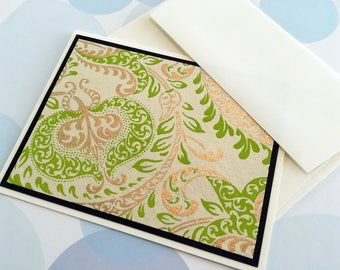 Greeting Card, OOAK card, handmade card, Stationery