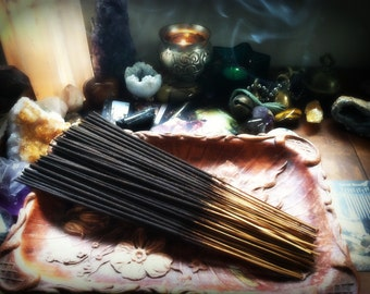 Black Raspberry Vanilla... Hand Dipped Incense Sticks Premium Quality and Highly Fragranced