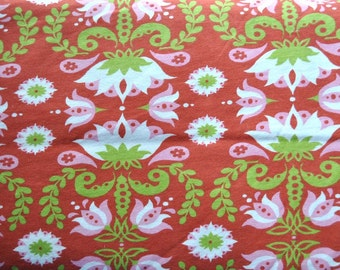 Groovy Lotus, cotton interlock knit - sold by the half yard