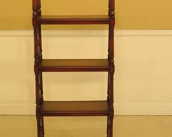 44637EC: THEODORE ALEXANDER Tall Open Mahogany Bookshelf
