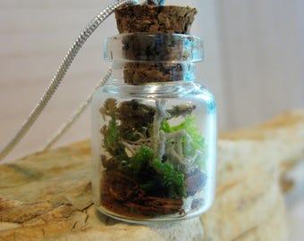 Woodland Terrarium Necklace