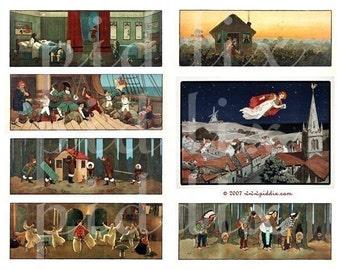 Peter Pan -- piddix digital collage sheet no. 96