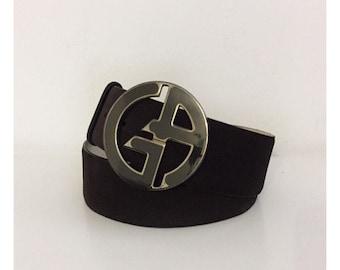 GIORGIO ARMANI - 90s Giorgio Armani Belt - Armani Leather Belt