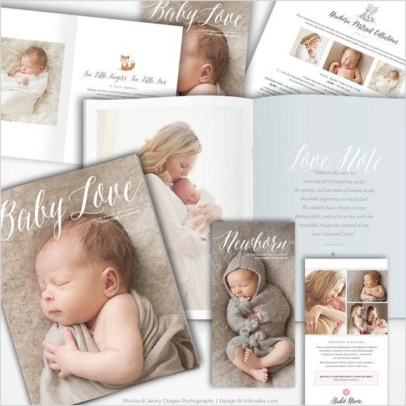 Newborn Photography Marketing Kit