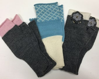 Fingerless Gloves - Arm warmers - Womens Fingerless - Fingerless Mittens - Wrist warmers - Hand warmers