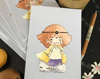 Princess Mononoke A6 Notebook