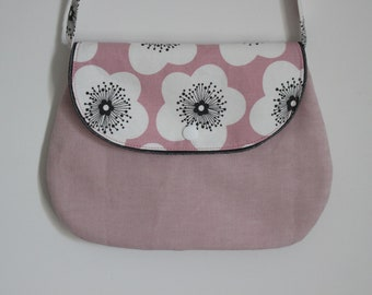 Chic purse pink flower for girl