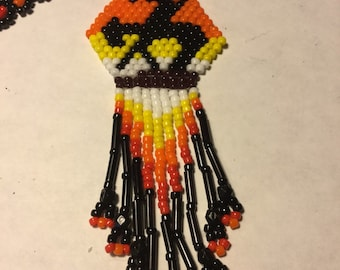 Native American Trail of Tears Beaded Necklace