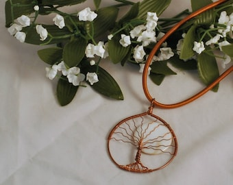 Full moon tree of life pendant - Large Tree of life pendant - Nature inspired pendant - Wirewrapped tree pendant