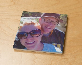Custom Imaged Photo Ceramic Drink Coaster