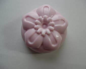 Floral Soap, Made to order, Hand poured, Choose your scent, Choose your Color, Soap, bar soap